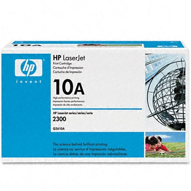 Q2610A Toner Cartridge - HP Genuine OEM (Black)