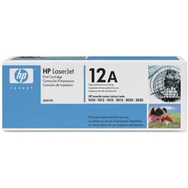 Q2612A Toner Cartridge - HP Genuine OEM (Black)
