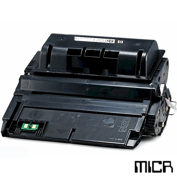 Remanufactured HP Q5942A-micr Black MICR Toner Cartridge