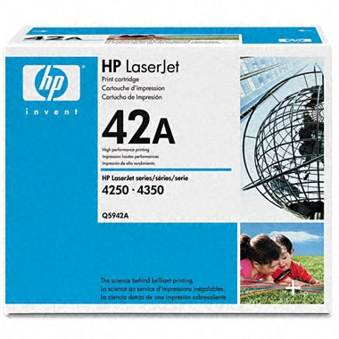 Q5942A Toner Cartridge - HP Genuine OEM (Black)