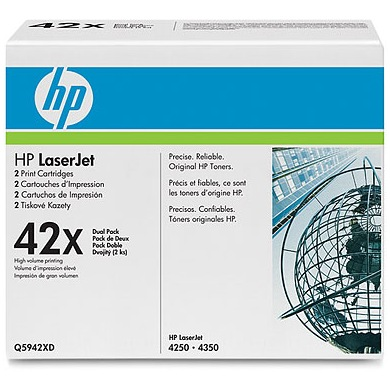 Q5942XD Toner Cartridge - HP Genuine OEM (Multipack)
