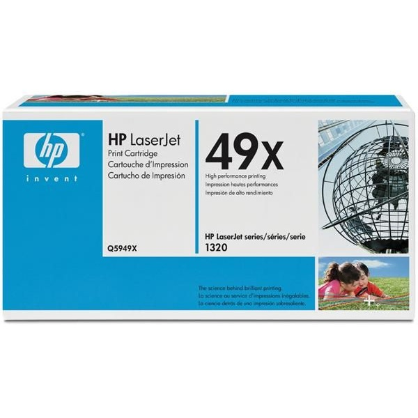 Q5949X Toner Cartridge - HP Genuine OEM (Black)