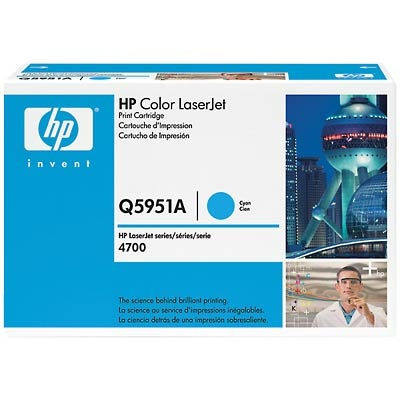 Q5951A Toner Cartridge - HP Genuine OEM (Cyan)