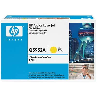 Q5952A Toner Cartridge - HP Genuine OEM (Yellow)