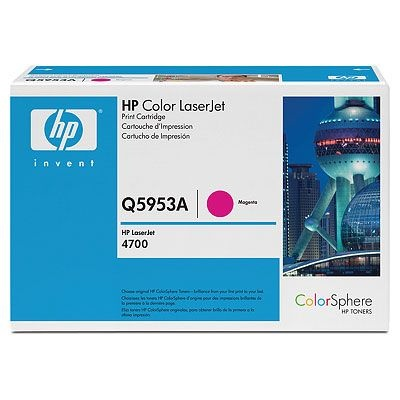 Q5953A Toner Cartridge - HP Genuine OEM (Magenta)