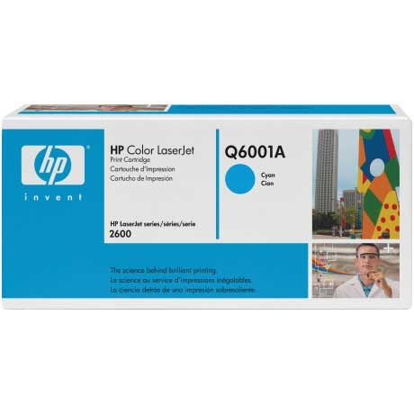 Q6001A Toner Cartridge - HP Genuine OEM (Cyan)