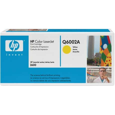 Q6002A Toner Cartridge - HP Genuine OEM (Yellow)