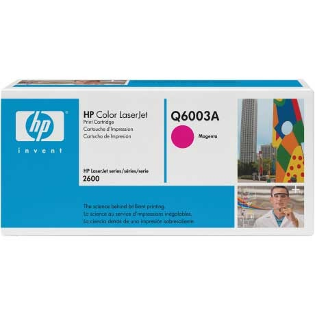Q6003A Toner Cartridge - HP Genuine OEM (Magenta)