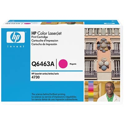 Q6463A Toner Cartridge - HP Genuine OEM (Magenta)