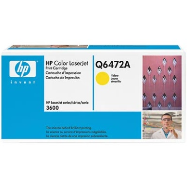 Q6472A Toner Cartridge - HP Genuine OEM (Yellow)
