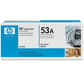 Genuine HP Q7553A Black Toner Cartridge