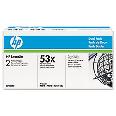 Q7553XD Toner Cartridge - HP Genuine OEM (Multipack)