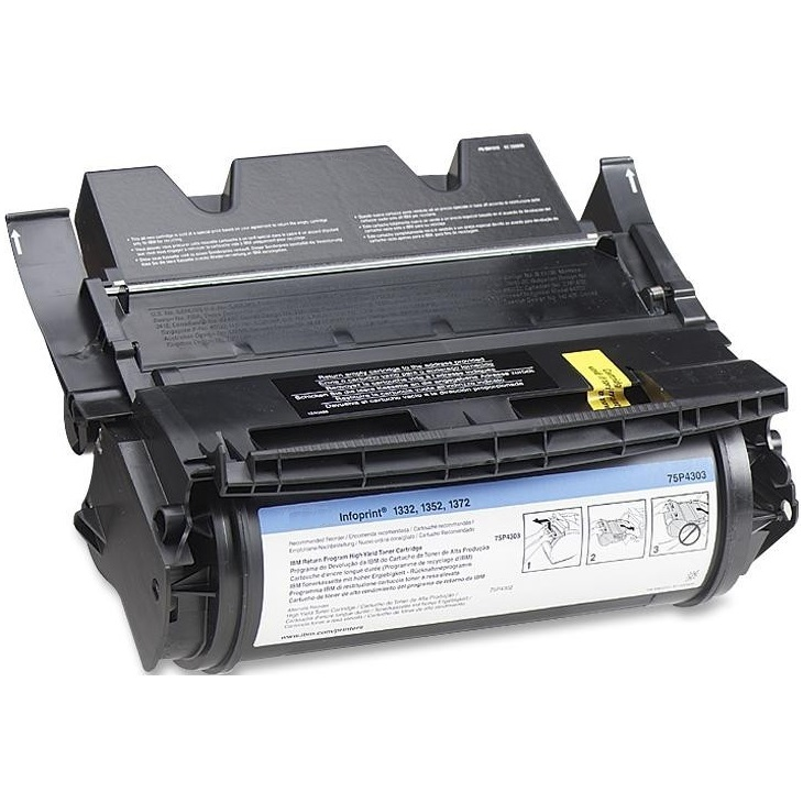 75P4303 Toner Cartridge - IBM Remanufactured (Black)