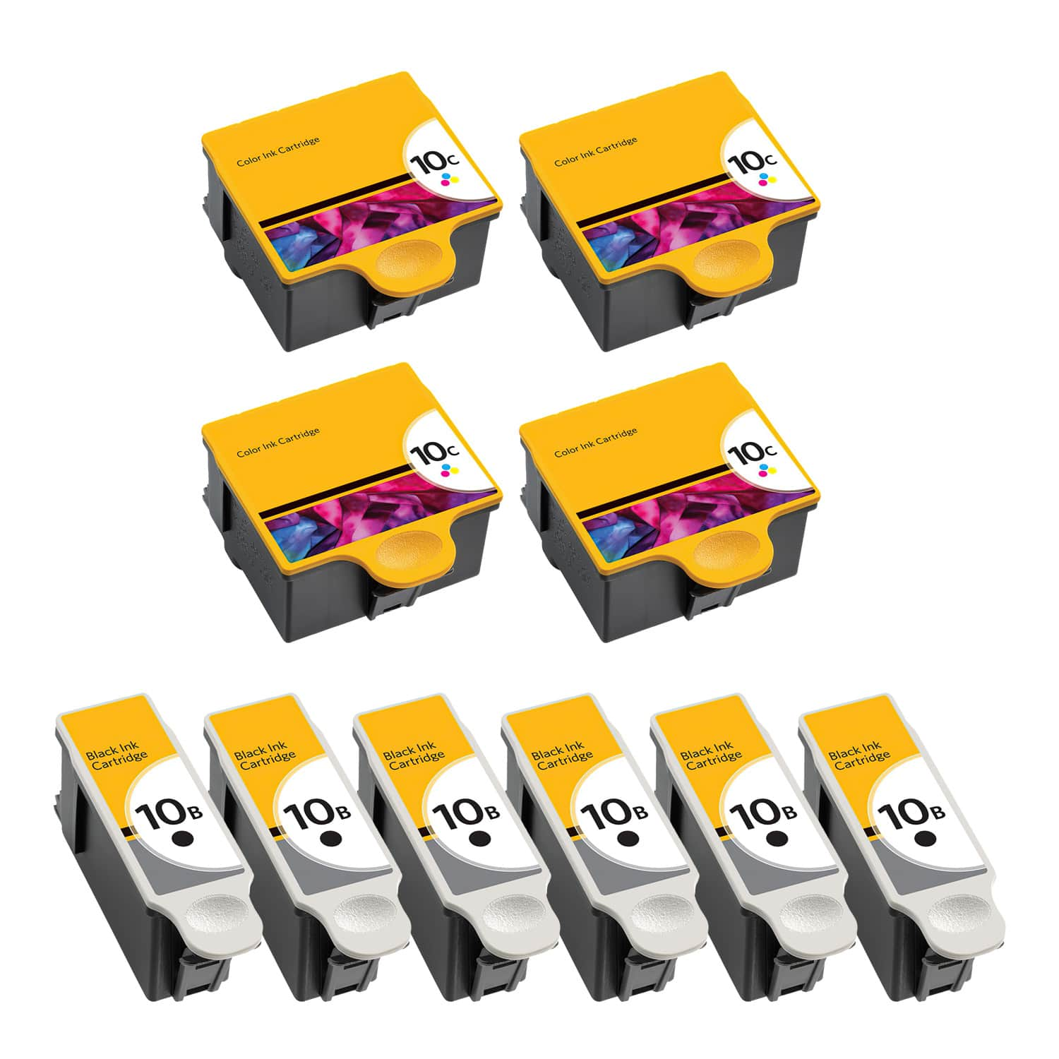 Compatible Kodak 10 Inkjet Pack - 10 Cartridges
