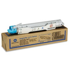 Genuine Konica-Minolta 1710550-004 Cyan Toner Cartridge