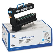 1710602-008 Toner Cartridge - Konica-Minolta Genuine OEM (Cyan)