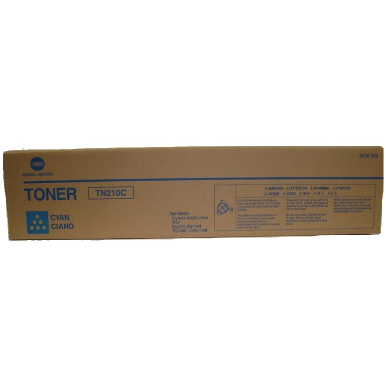 8938-508 Toner Cartridge - Konica-Minolta Genuine OEM (Cyan)