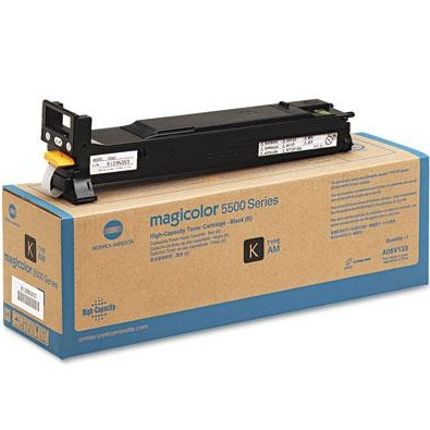 Genuine Konica-Minolta A06V133 Black Toner Cartridge