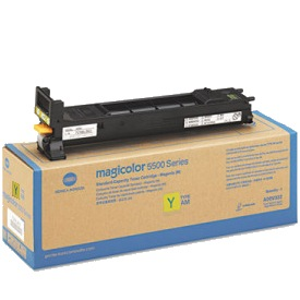 Genuine Konica-Minolta A06V232 Yellow Toner Cartridge
