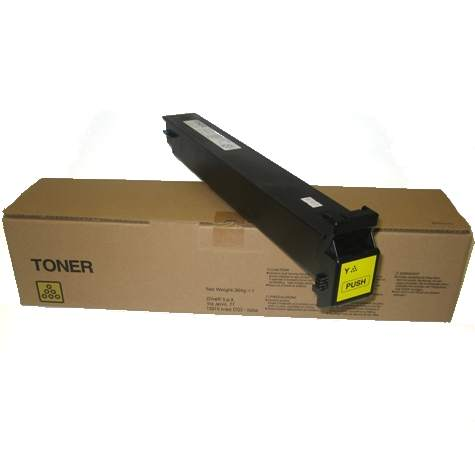 A0D7231 Toner Cartridge - Konica-Minolta Genuine OEM (Yellow)