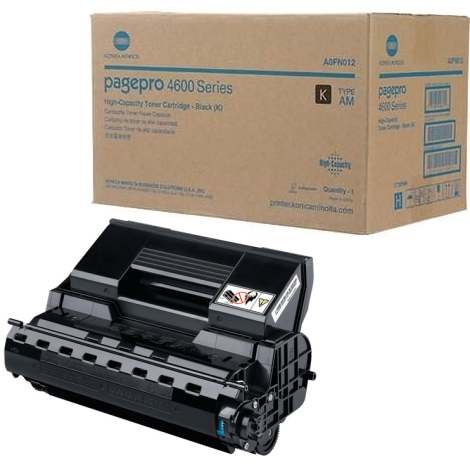 Genuine Konica-Minolta A0FN012 Black Toner Cartridge