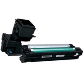 Remanufactured Konica-Minolta A0WG02F Black Toner Cartridge