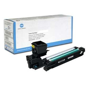Genuine Konica-Minolta A0WG07F Yellow Toner Cartridge