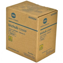 A0X5234 Toner Cartridge - Konica-Minolta Genuine OEM (Yellow)