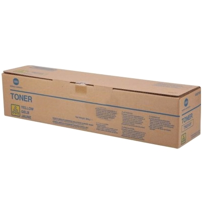 Genuine Konica-Minolta A0X5235 Yellow Toner Cartridge