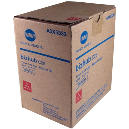 Genuine Konica-Minolta A0X5333 Magenta Toner Cartridge