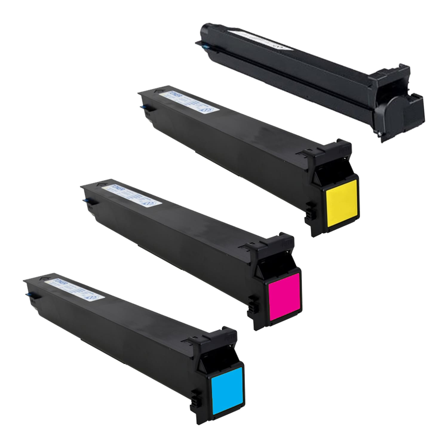 Compatible Konica-Minolta TN213 Toner Pack - 4 Cartridges