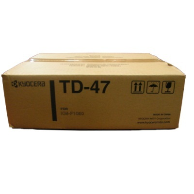 TD-47 Toner Cartridge - Kyocera Mita Genuine OEM (Black)