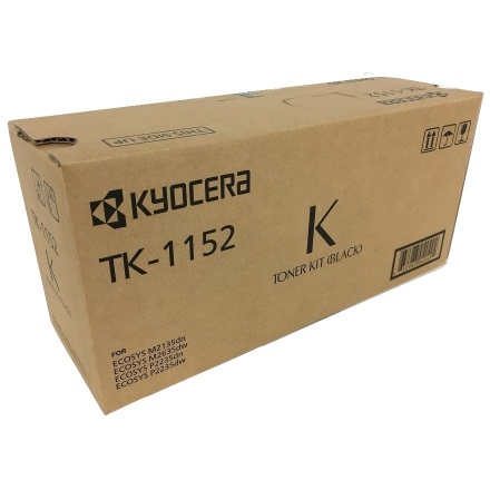 TK-1152 Toner Cartridge - Kyocera Mita Genuine OEM (Black)