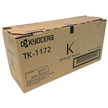 TK-1172 Toner Cartridge - Kyocera Mita Genuine OEM (Black)
