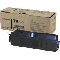 TK-18 Toner Cartridge - Kyocera Mita Genuine OEM (Black)