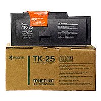 Genuine Kyocera Mita TK-25 Black Toner Cartridge