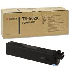 Genuine Kyocera Mita TK-502K Black Toner Cartridge