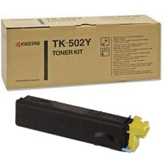 Genuine Kyocera Mita TK-502Y Yellow Toner Cartridge
