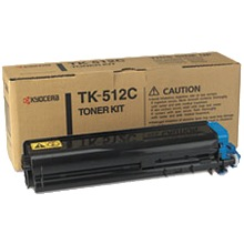 Genuine Kyocera Mita TK-512C Cyan Toner Cartridge