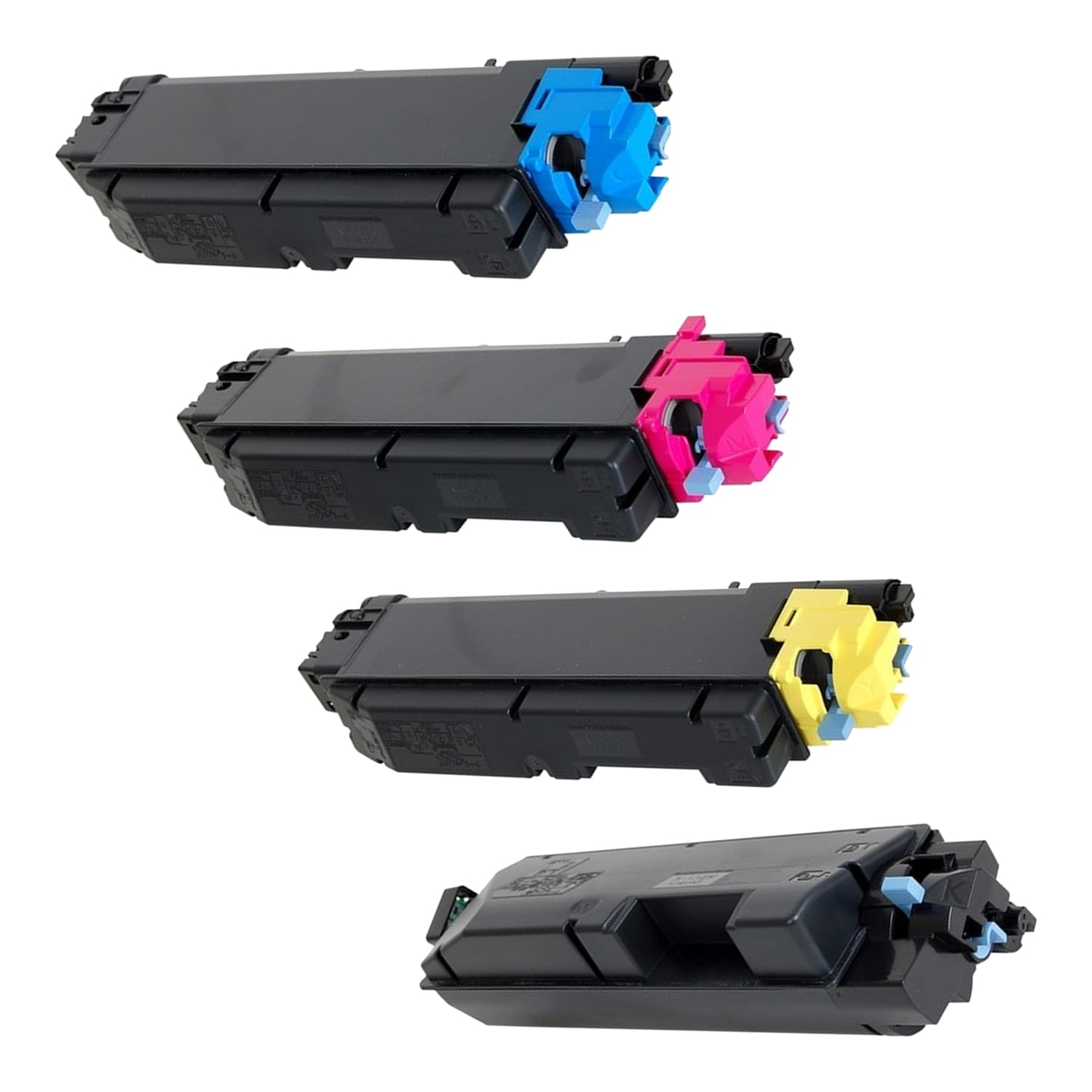 Compatible Kyocera Mita TK-5142 Toner Pack - 4 Cartridges