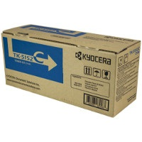 TK-5152C Toner Cartridge - Kyocera Mita Genuine OEM (Cyan)