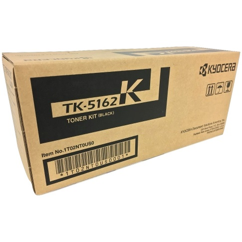 TK-5162K Toner Cartridge - Kyocera Mita Genuine OEM (Black)