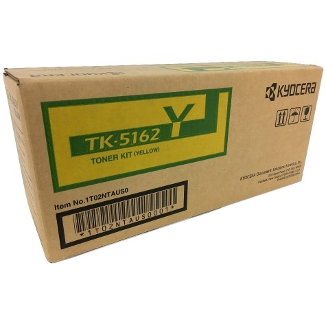 TK-5162Y Toner Cartridge - Kyocera Mita Genuine OEM (Yellow)