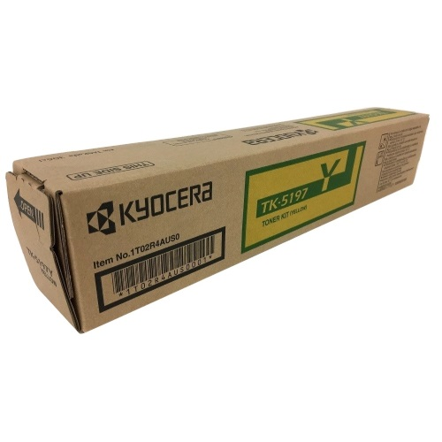 TK-5197Y Toner Cartridge - Kyocera Mita Genuine OEM (Yellow)