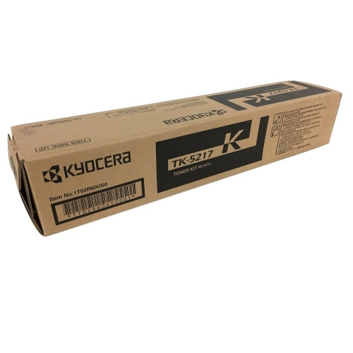 TK-5217K Toner Cartridge - Kyocera Mita Genuine OEM (Black)