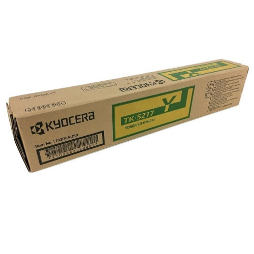 TK-5217Y Toner Cartridge - Kyocera Mita Genuine OEM (Yellow)