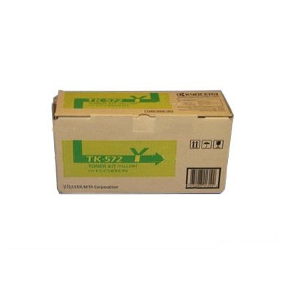 TK-572Y Toner Cartridge - Kyocera Mita Genuine OEM (Yellow)