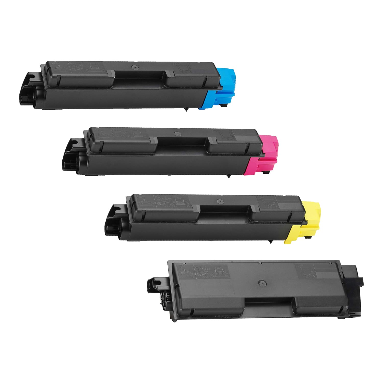 Compatible Kyocera Mita TK-582 Toner High Capacity Pack - 4 Cartridges