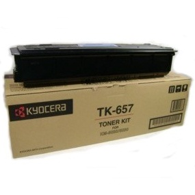 Genuine Kyocera Mita TK-657 Black Toner Cartridge