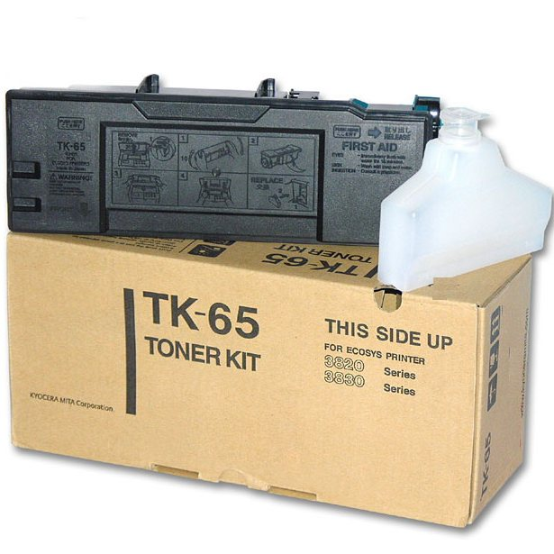 TK-67 Toner Cartridge - Kyocera Mita Genuine OEM (Black)